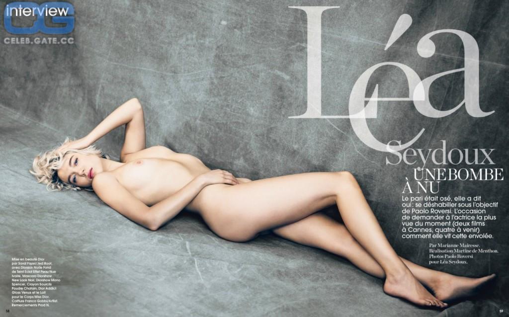 Nackt  Léa Seydoux Lea Seydoux