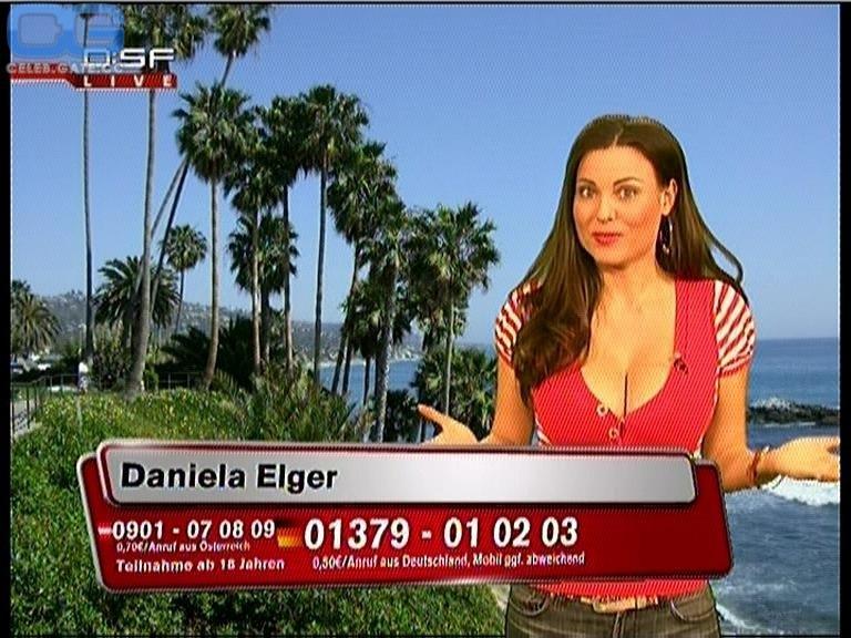 Daniela Elger  nackt