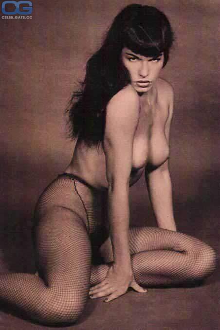 Bettie Page  nackt