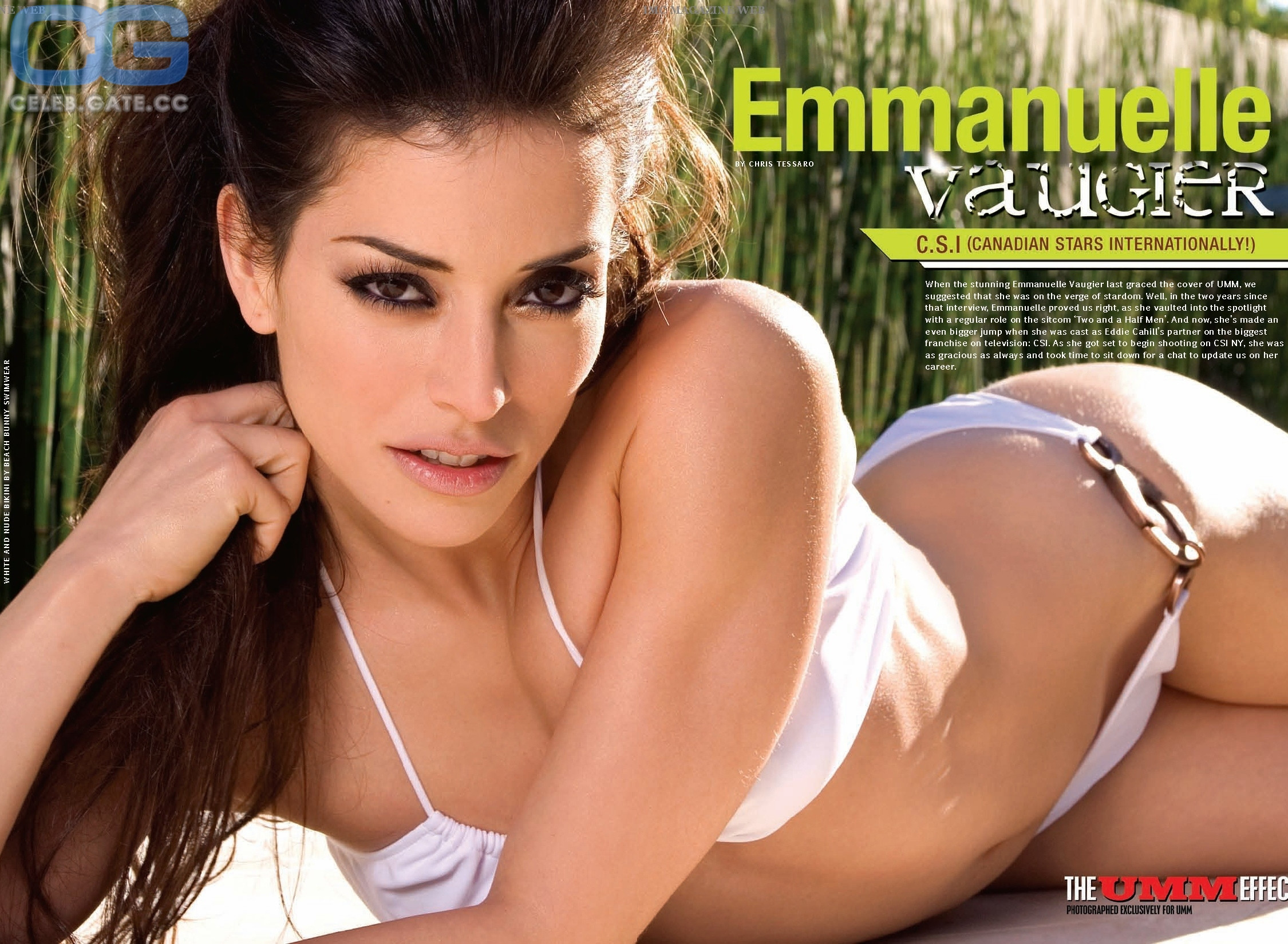 Vaugier nackt Emmanuelle  Emmanuelle Vaugier