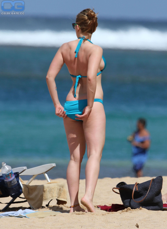 Johansson beach scarlett nude Before Black