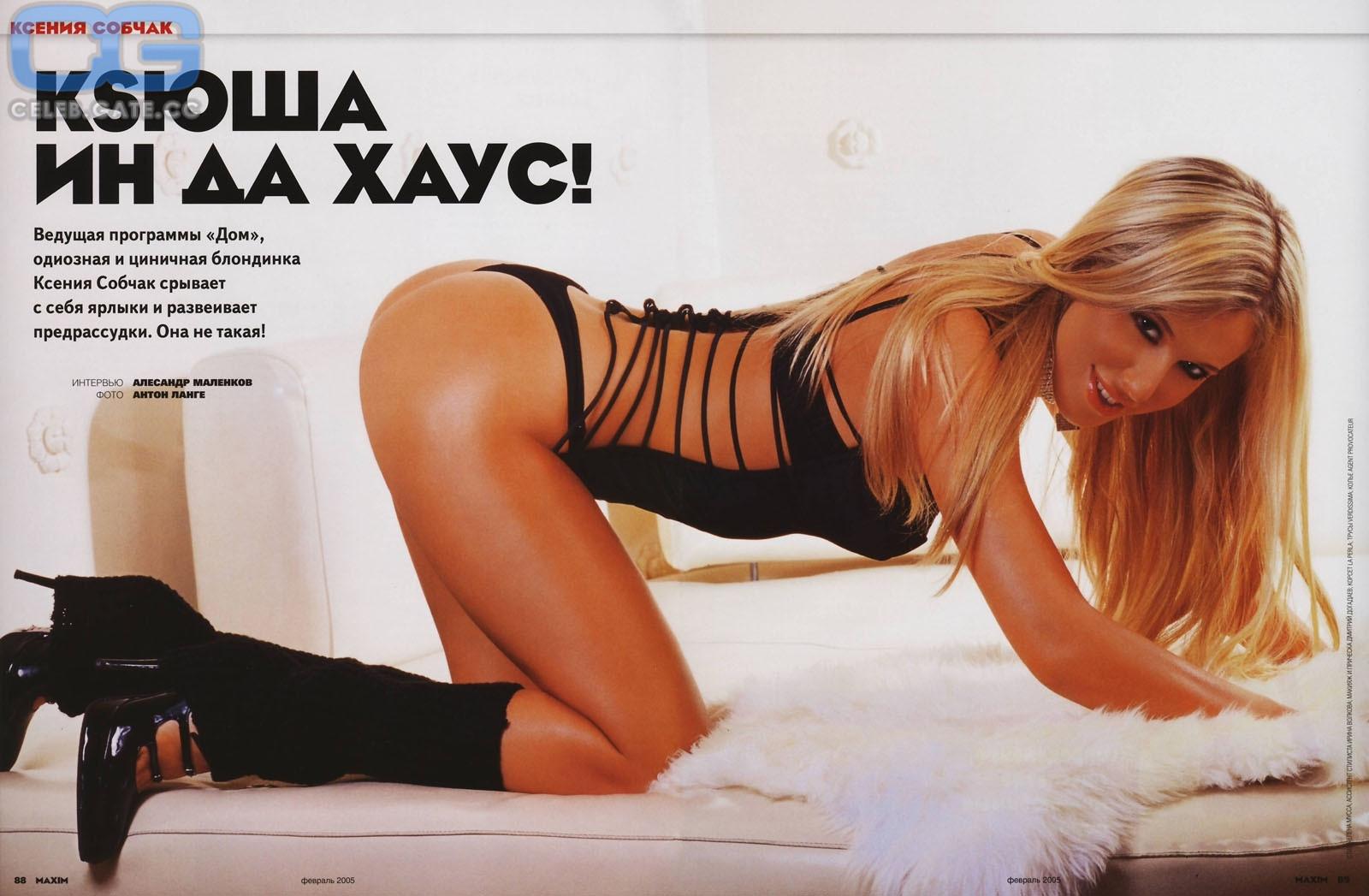 Nackt Kseniya Sobchak  Putin's goddaughter