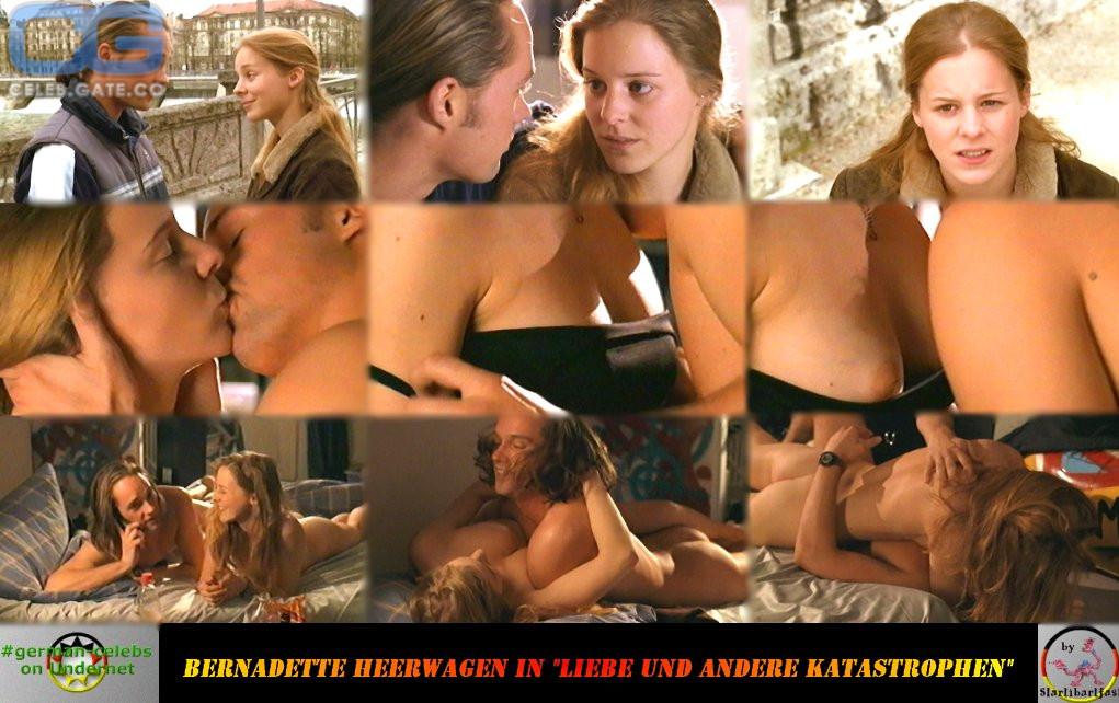 Bernadette nackt Heerwagen Bernadette Heerwagen