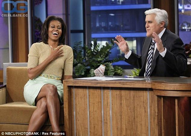 Nackt Michelle Obama  Melania Trump's
