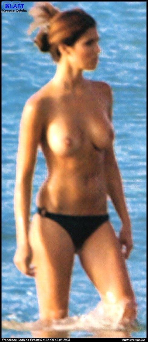 Francesca Chillemi  nackt
