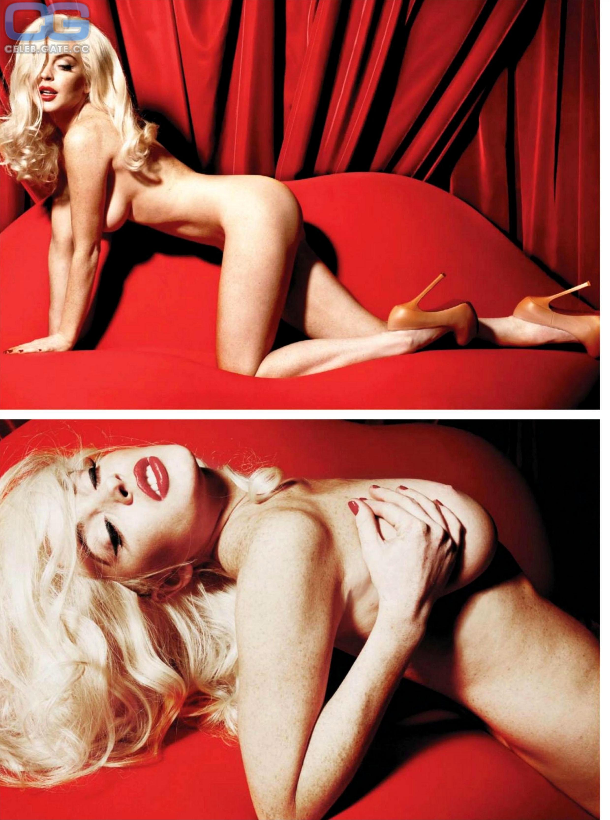 Nacktbilder lindsay lohan Melissa Rauch