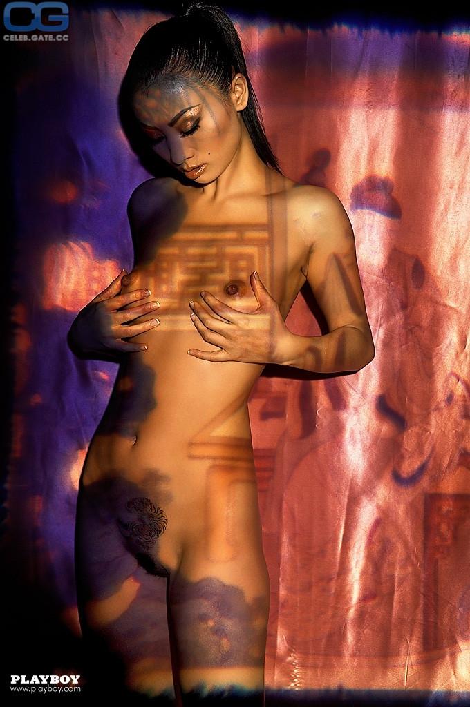 Hot Bai Ling Nude Playboy HD