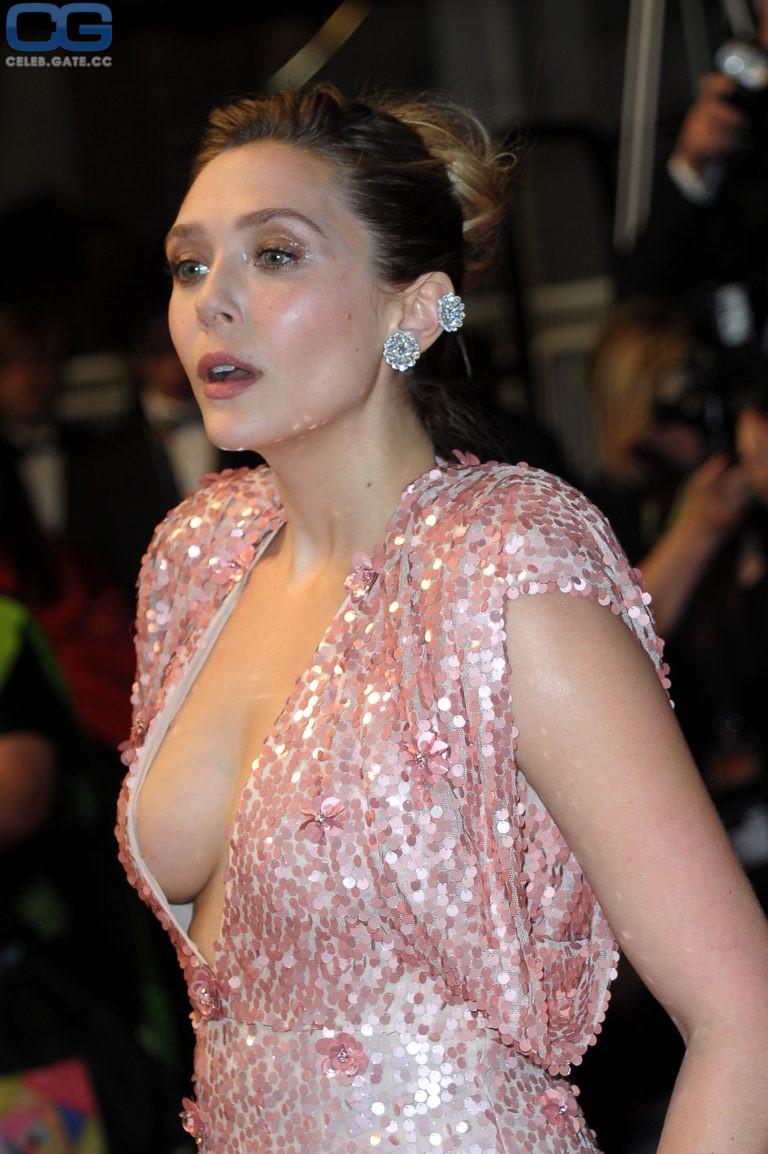Elizabeth Olsen  nackt