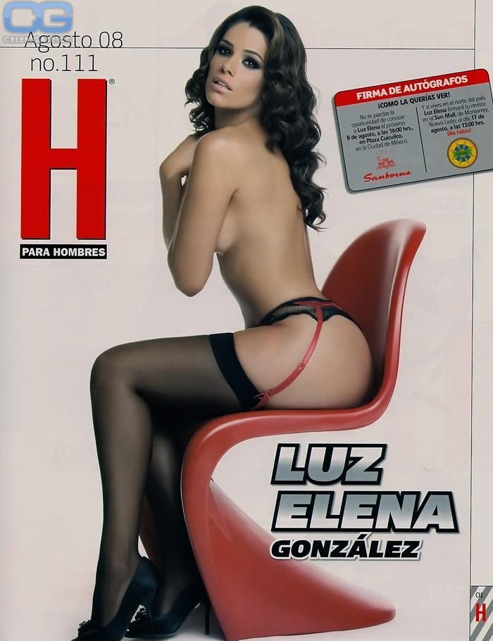Gonzalez nackt  Elena Luz Luz Elena