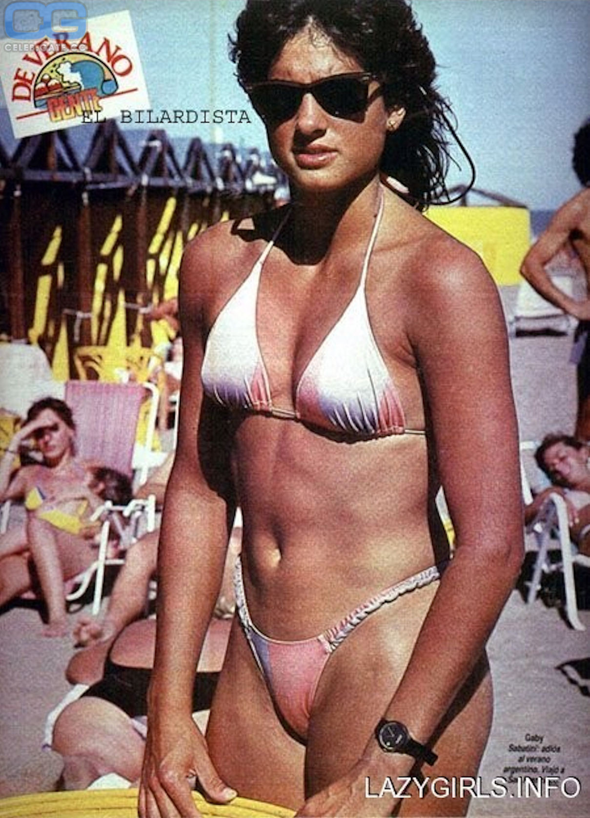 Sabatini nackt Gabriela  Oriana Hots