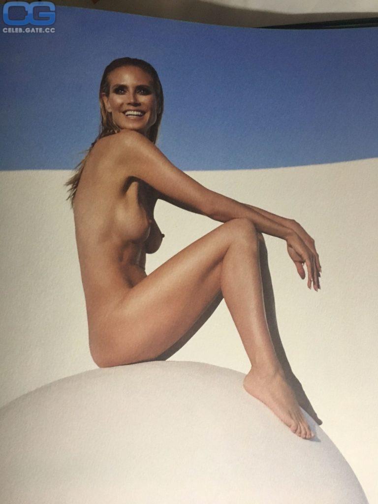 Simply excellent photo nude heidi klum