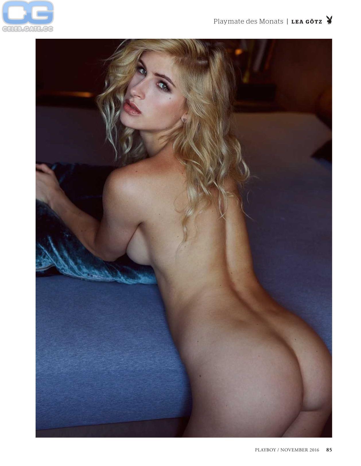 Lea götz nackt im playboy