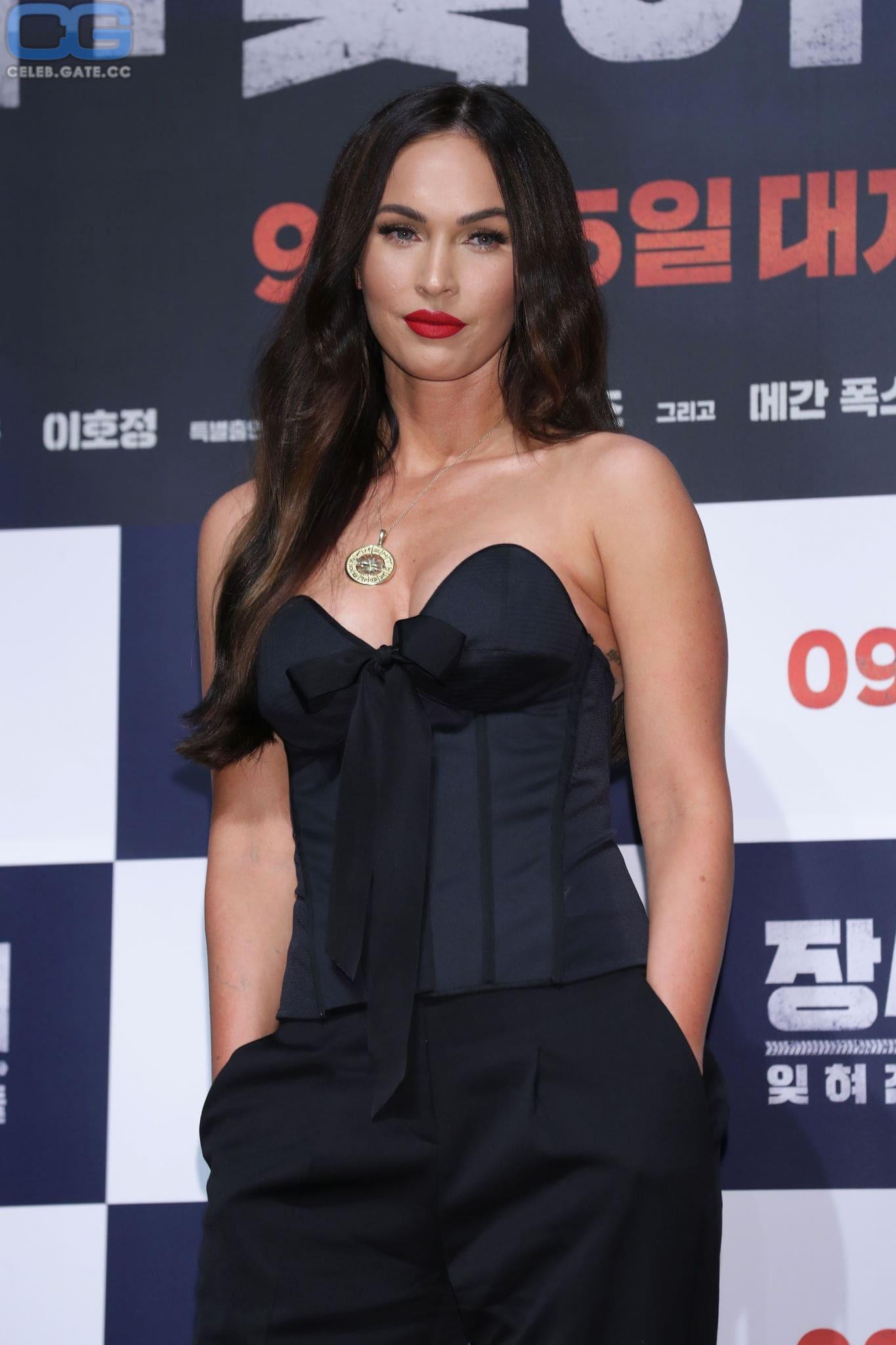 Megan Fox braless