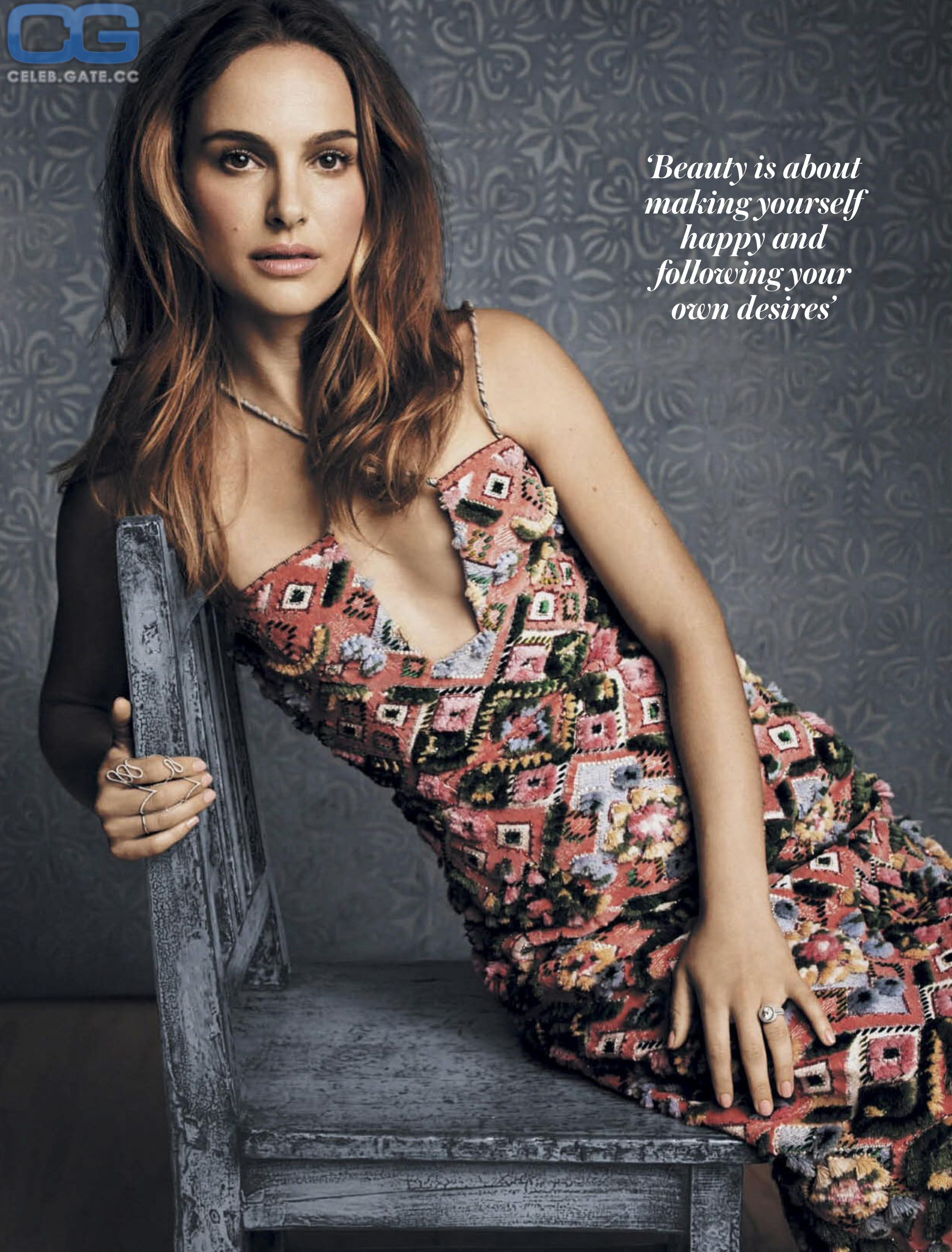 Nackt nathalie portmann Natalie Portman