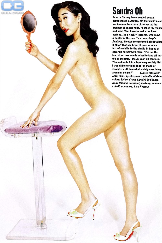 Sandra oh topless