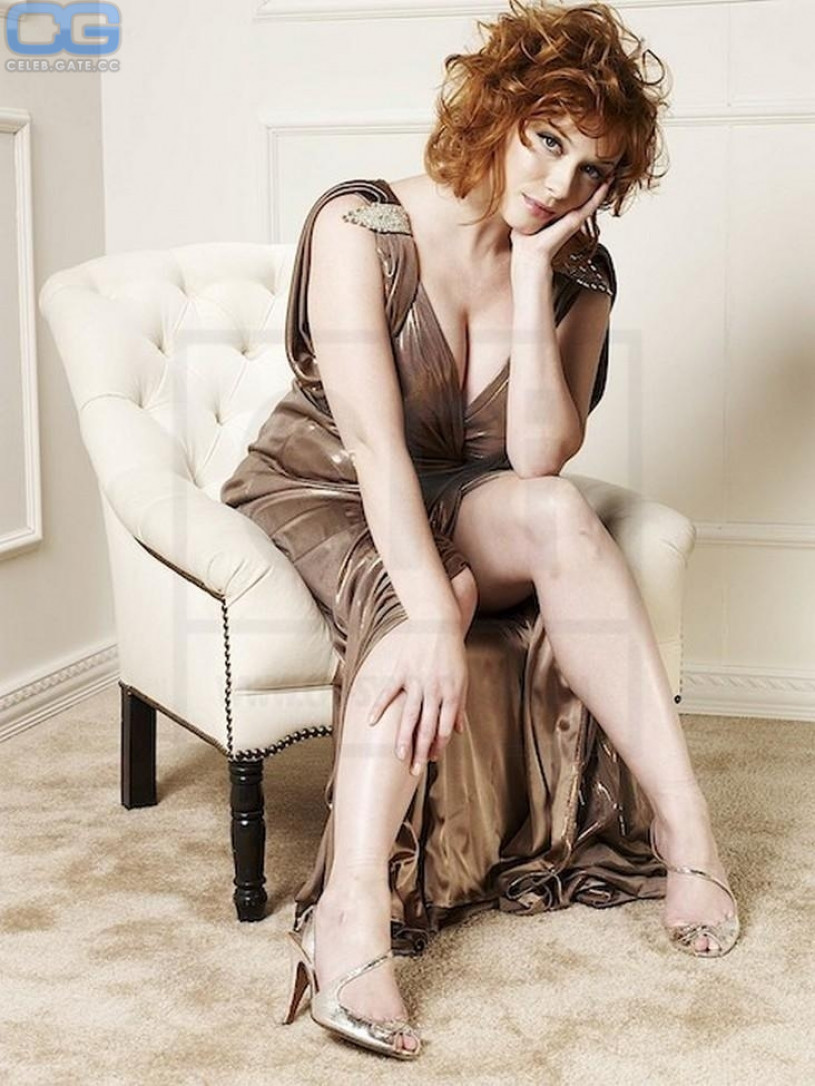 Christina hendricks real nude
