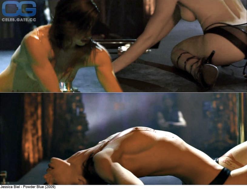 Jessica biel powder blue nude, Jenifer aniston nude video