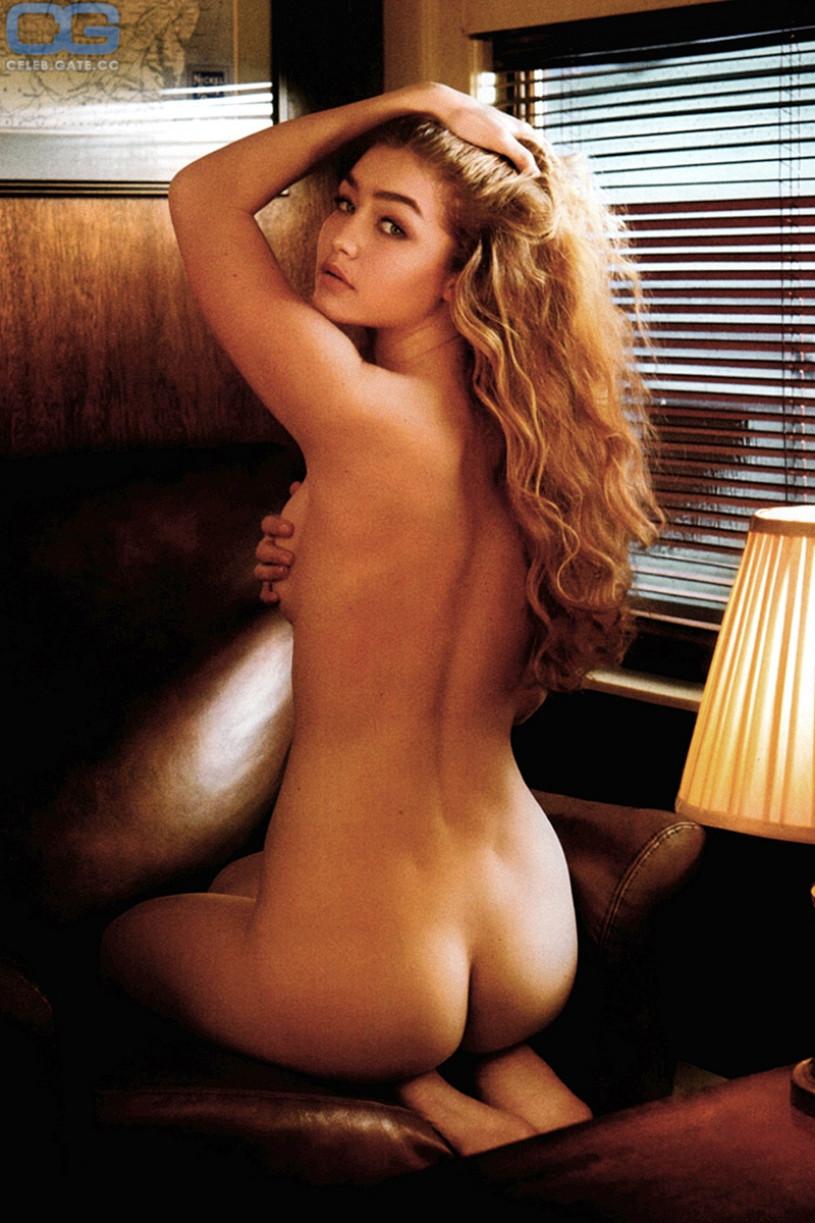 hadid nude playboy Gigi