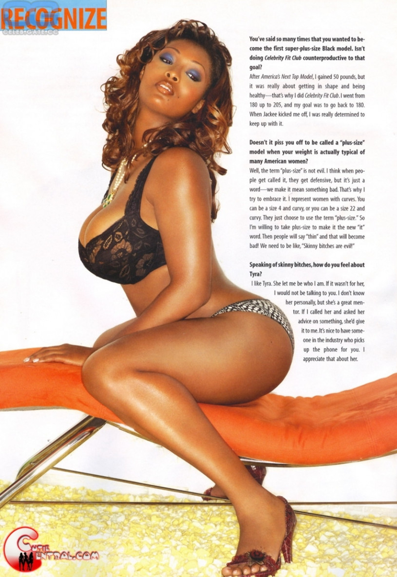 nude in playboy Toccara