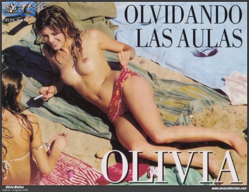 Olivia Longott Nacktfotos
