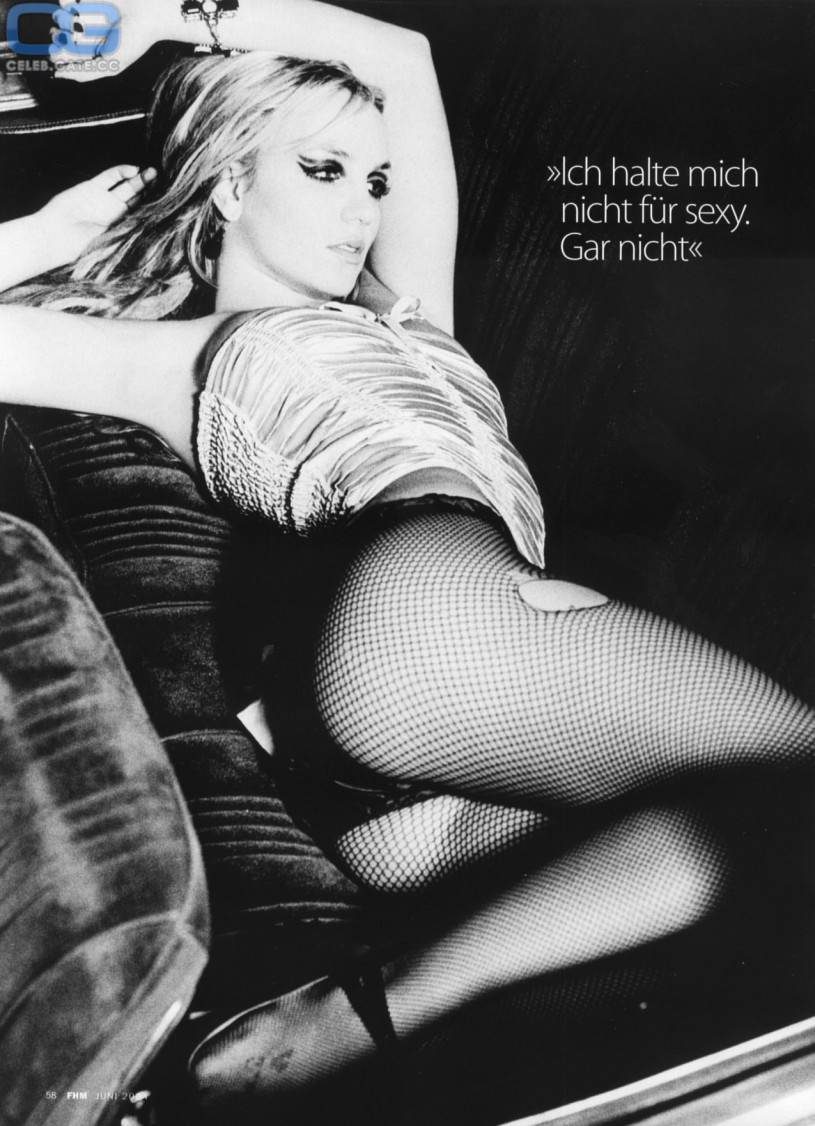 Britney spears nude black and white picture 633