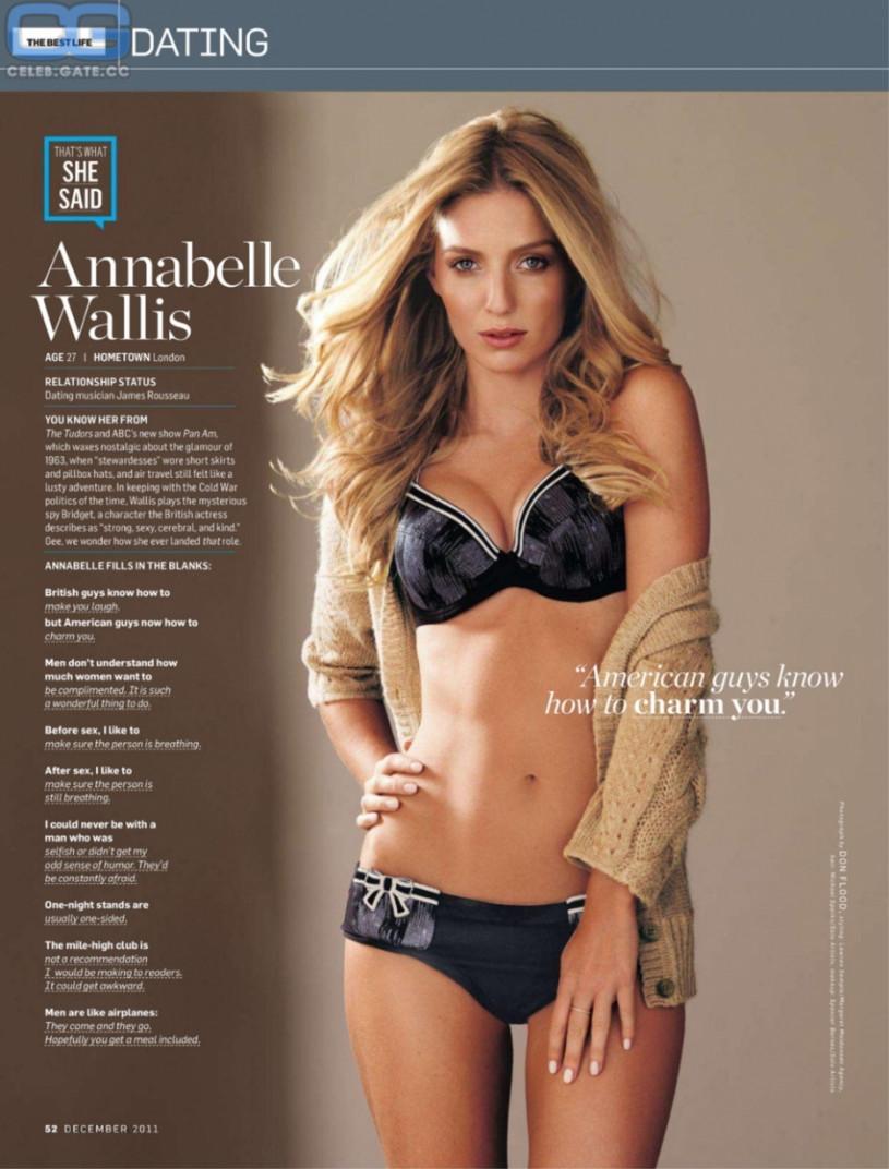 CelebGate Annabelle Wallis - 2019 year