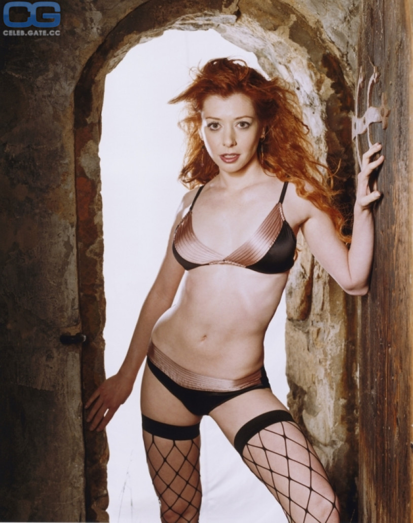 Useful Nude images of alyson hannigan