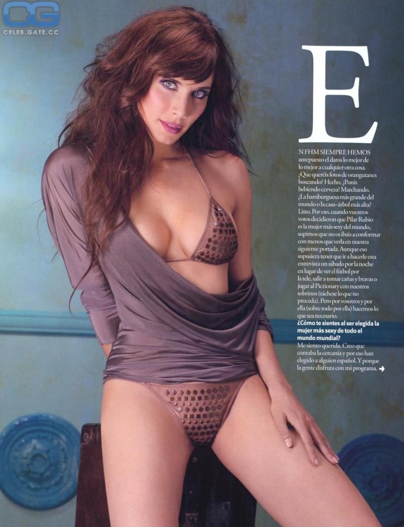 nude Pilar rubio