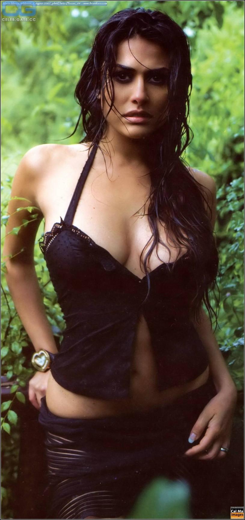 maria mazza topless