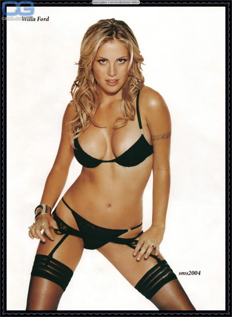 Willa Ford nackt nackt
