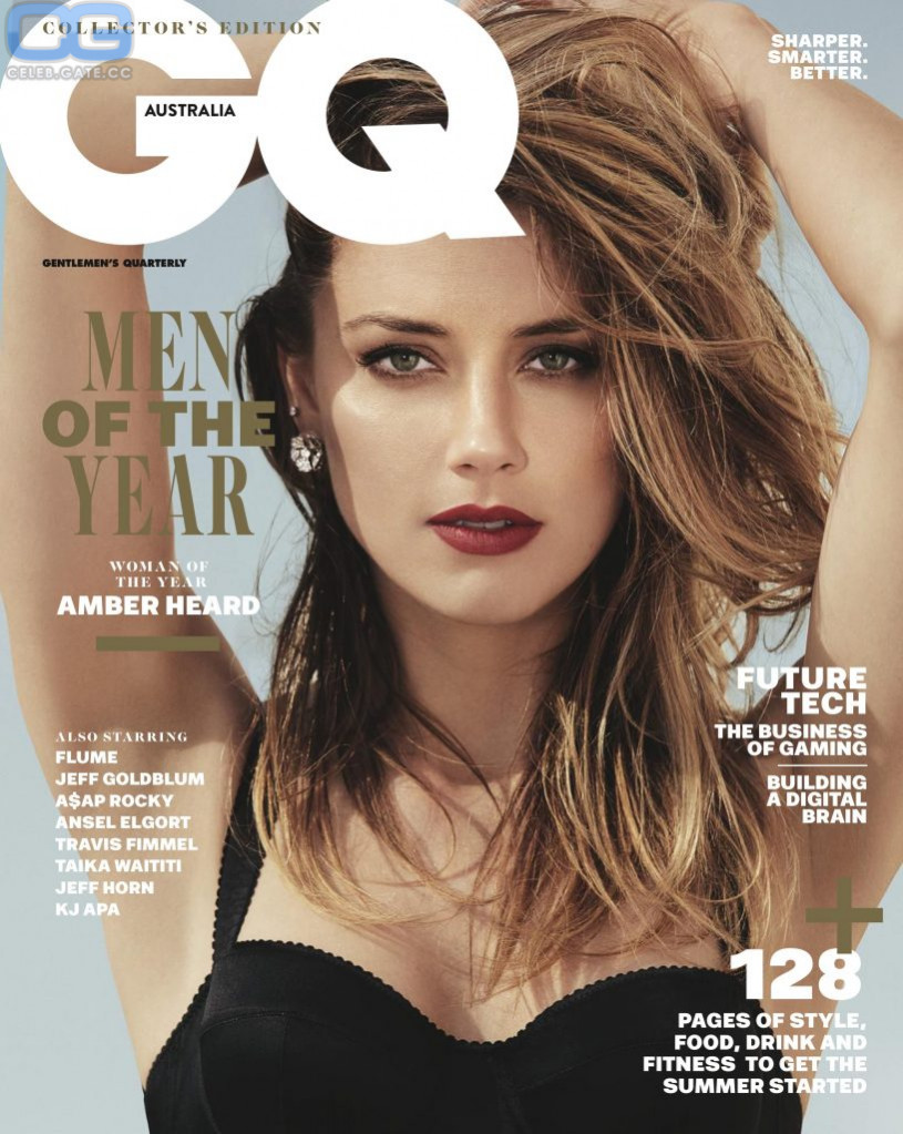 Amber Heard gq