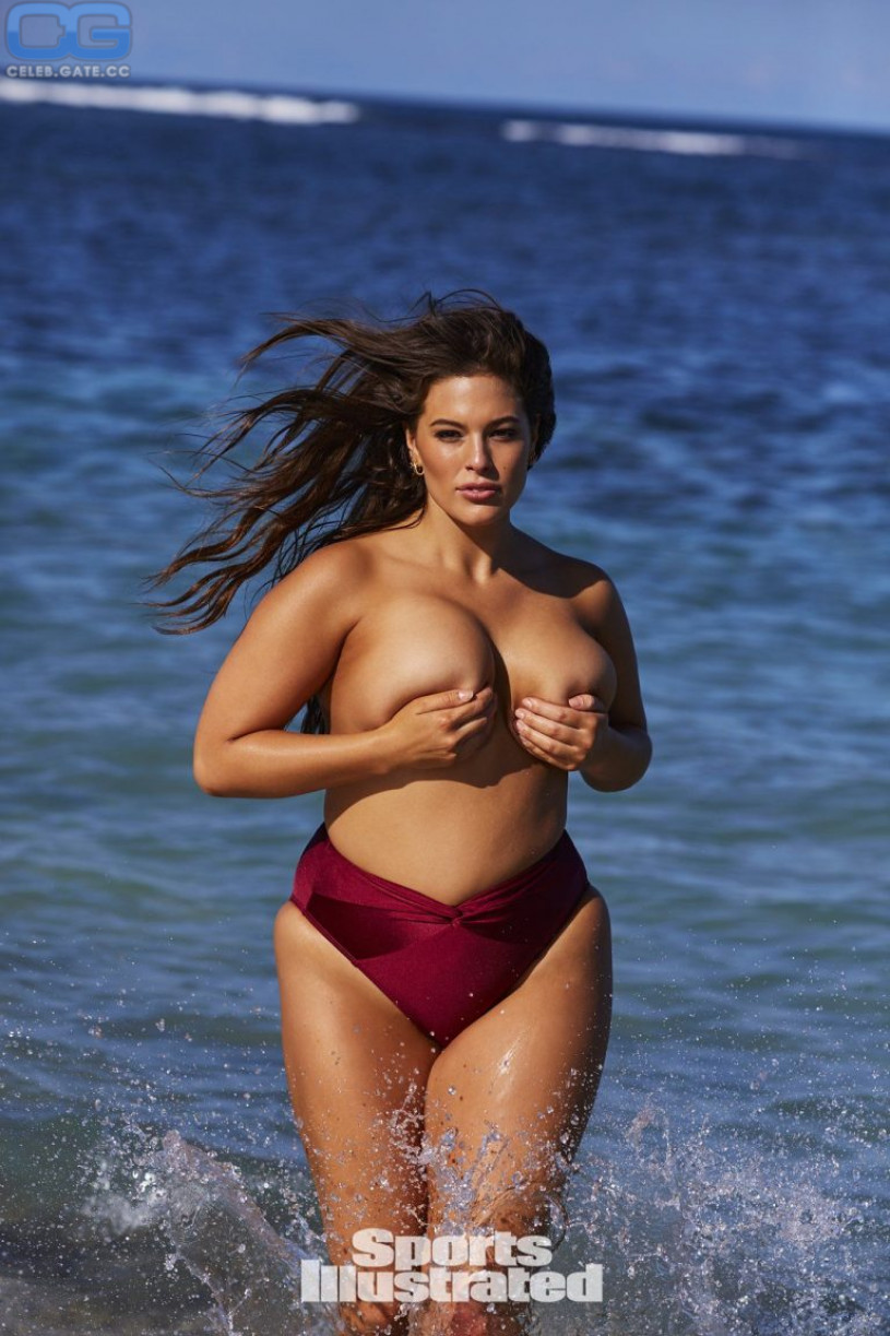 Ashley graham naked tits