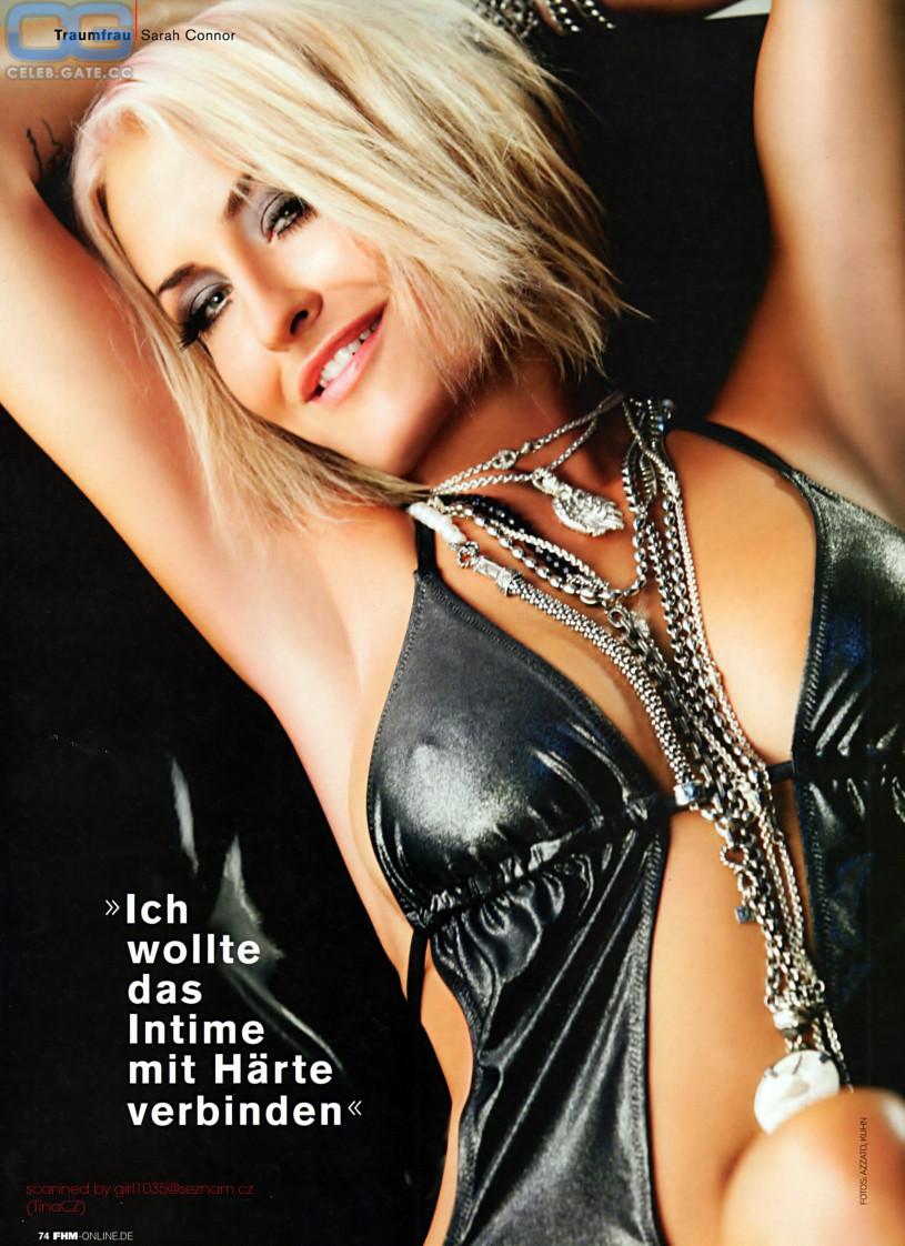 Sarah Connor Nackt Nacktbilder Playboy Nacktfotos Fakes Oben Ohne