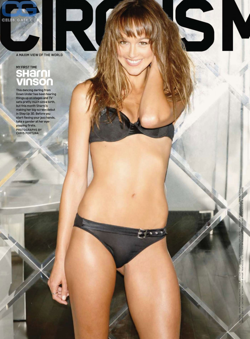 The Sharni vinson naked will know