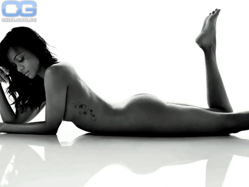 Zoe Saldana Nackt 8