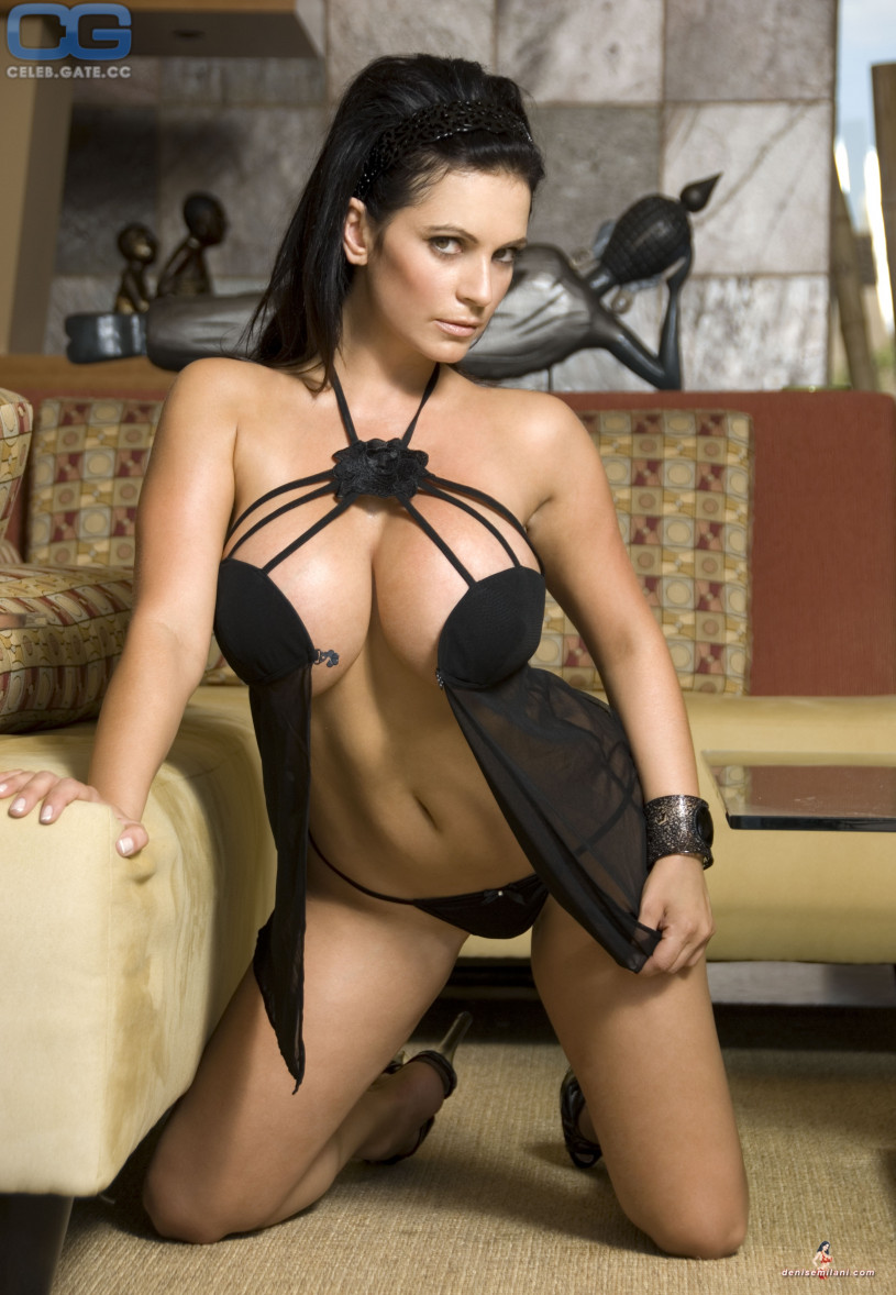 Think, denise milani naked all became