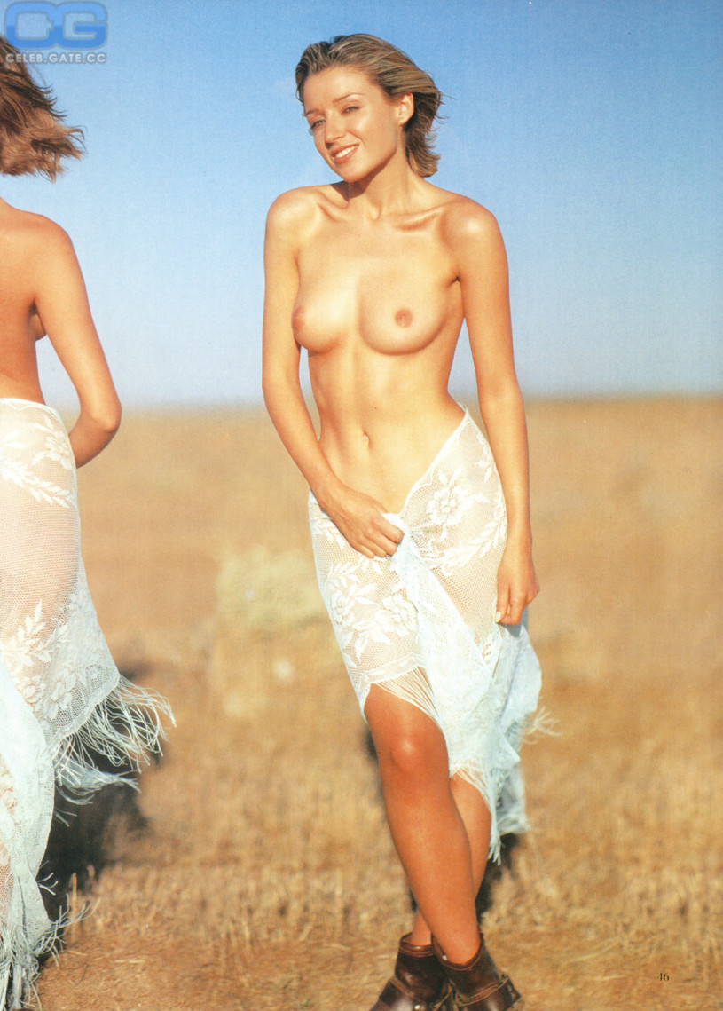 nude spread dannii minogue