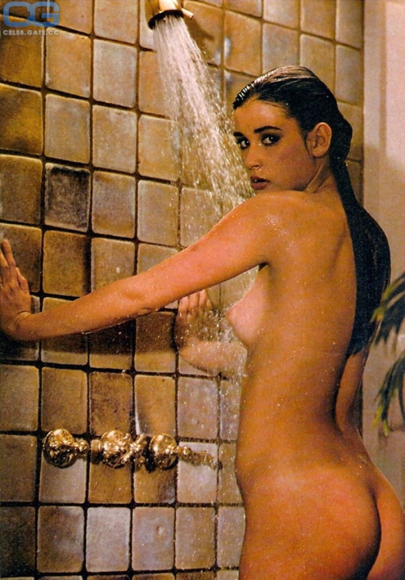 For that Demi moore naked having sex not