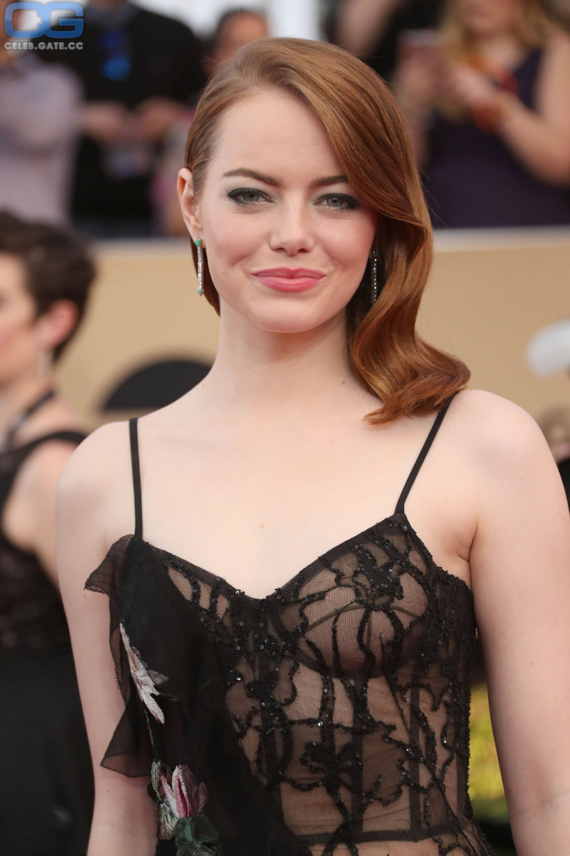 Emma Stone see through