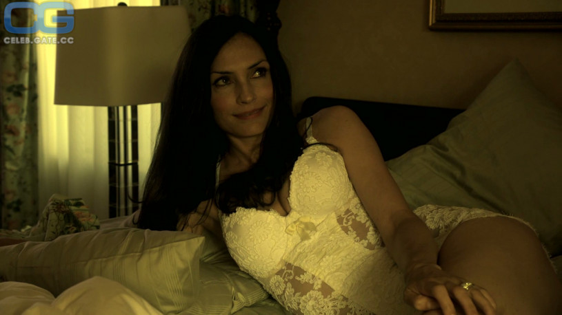 Cum on famke janssen all business