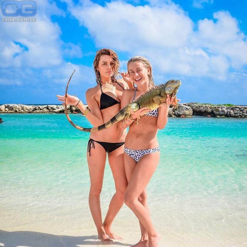 Julianne Hough beach