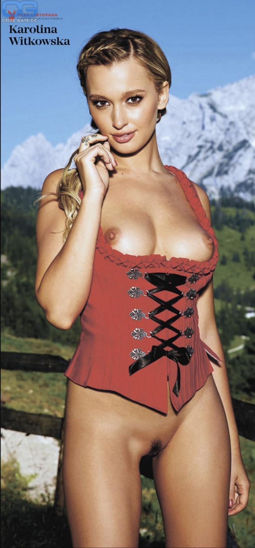 Karolina Witkowska nackt
