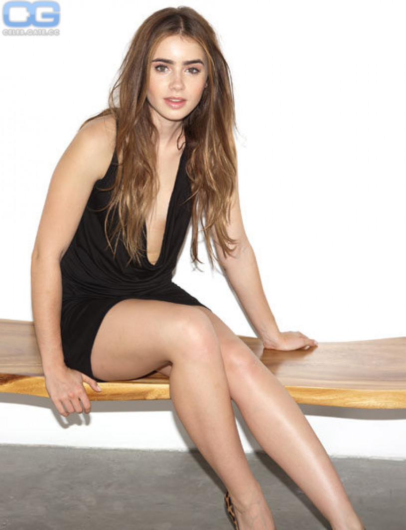 Apologise, too Lily collins nude consider, that
