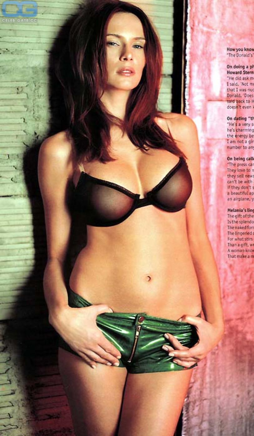 Melania Trump Nude, Pictures, Photos, Playboy, Naked -8549