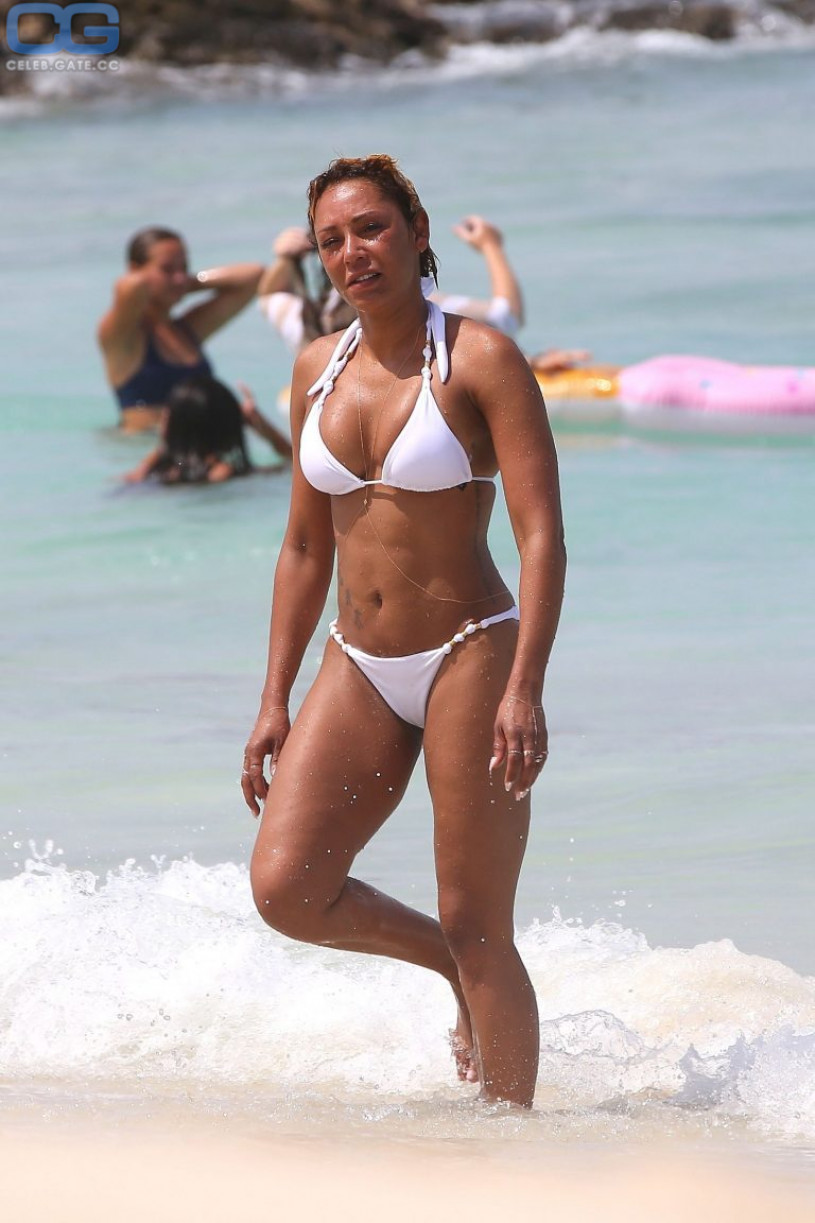 Melanie Brown bikini