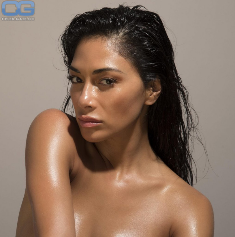 Naked pics of nicole scherzinger in bed sorry, that