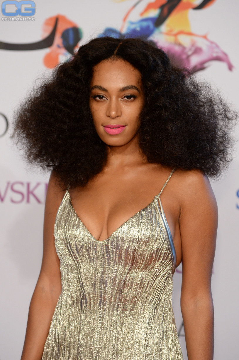 Knowles and Solange naked nude