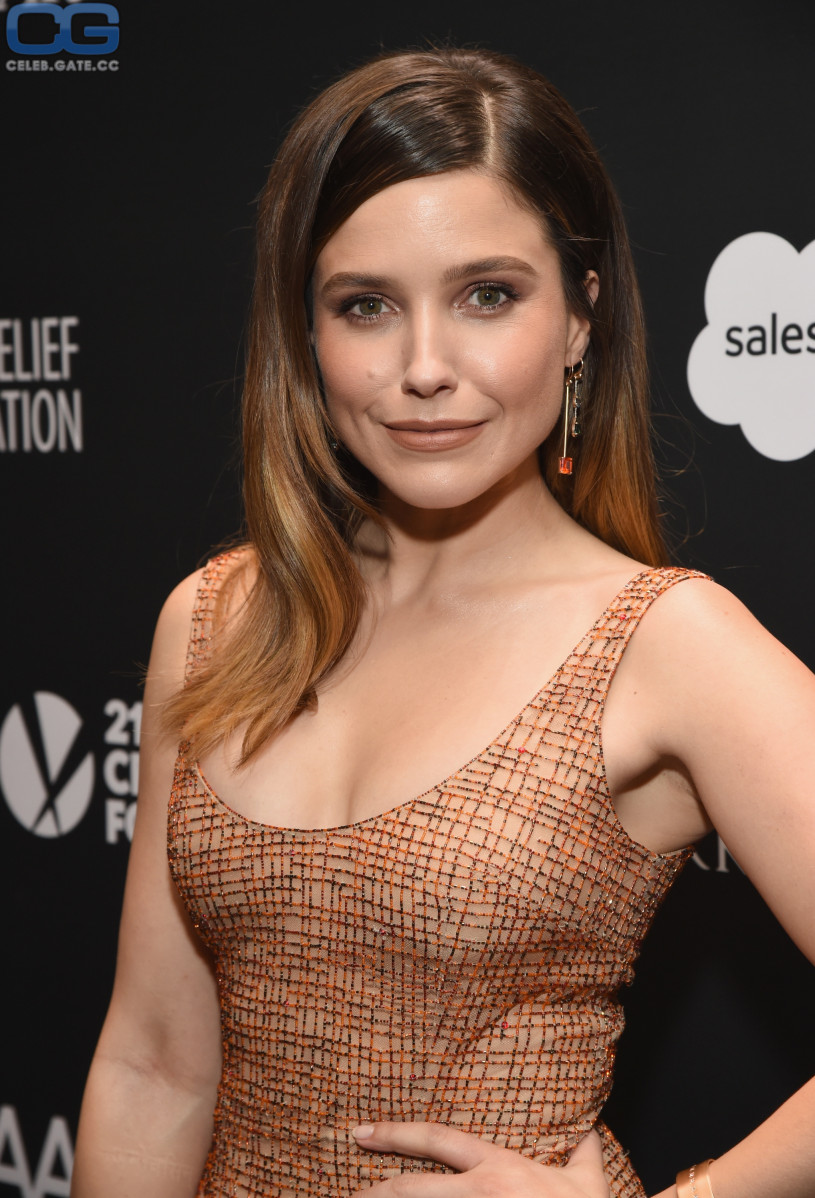 Sophia Bush Braless